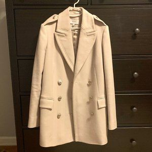 Reiss Double Breasted Wool Coat